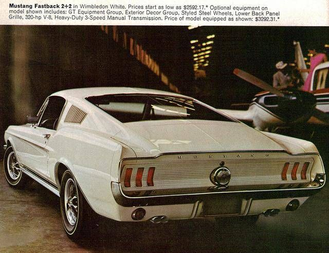 67 Ford Mustang Gt Fastback 2 2 Mustang Fastback Ford Mustang Ford Mustang Gt