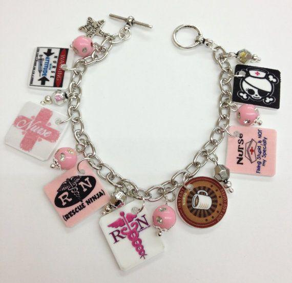 Nurse Charm Bracelet- kinda cute. $16