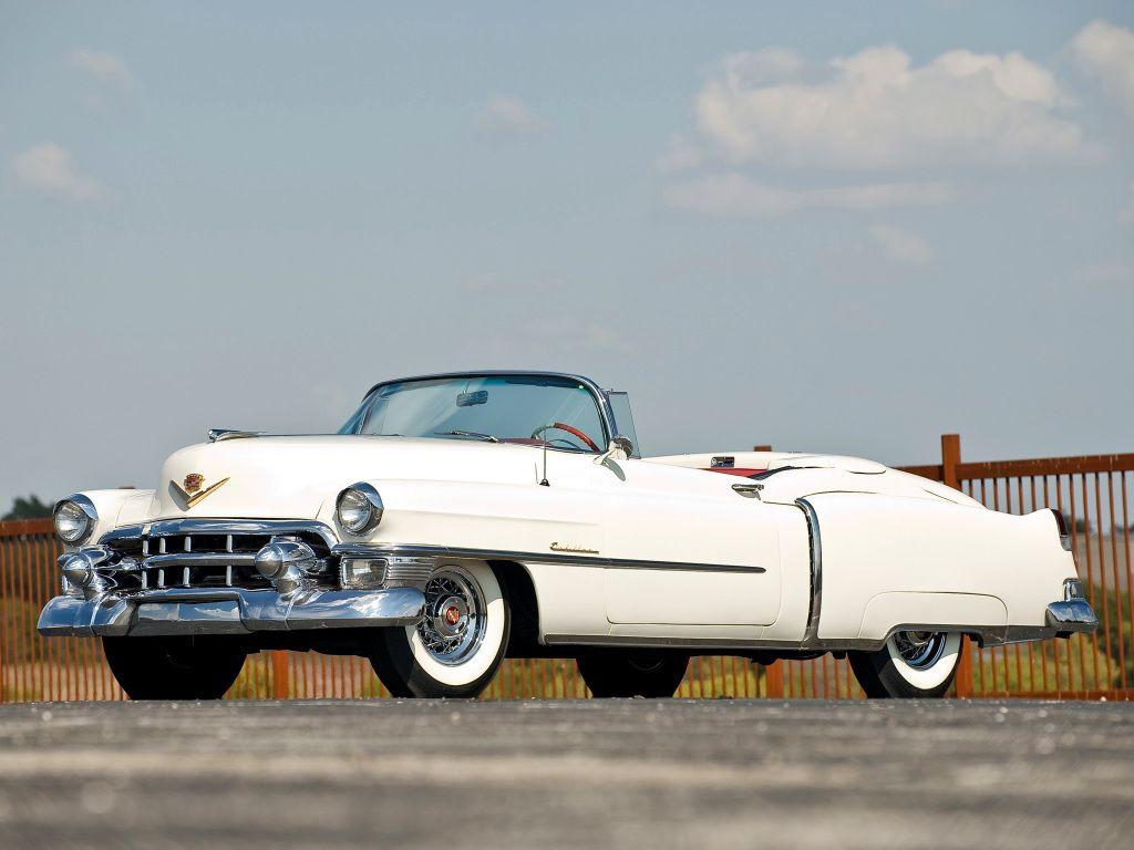 Pin op Cadillac Eldorado 1953