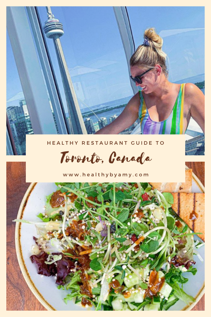 Healthy Guide To Toronto Canada Healthy Restaurant Vegan Restaurants Healthy Travel
