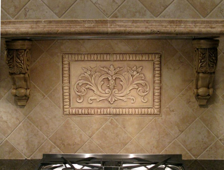 Porcelain tile backsplash gallery backsplash tiles stone - Decorative tile for backsplash in kitchens ...