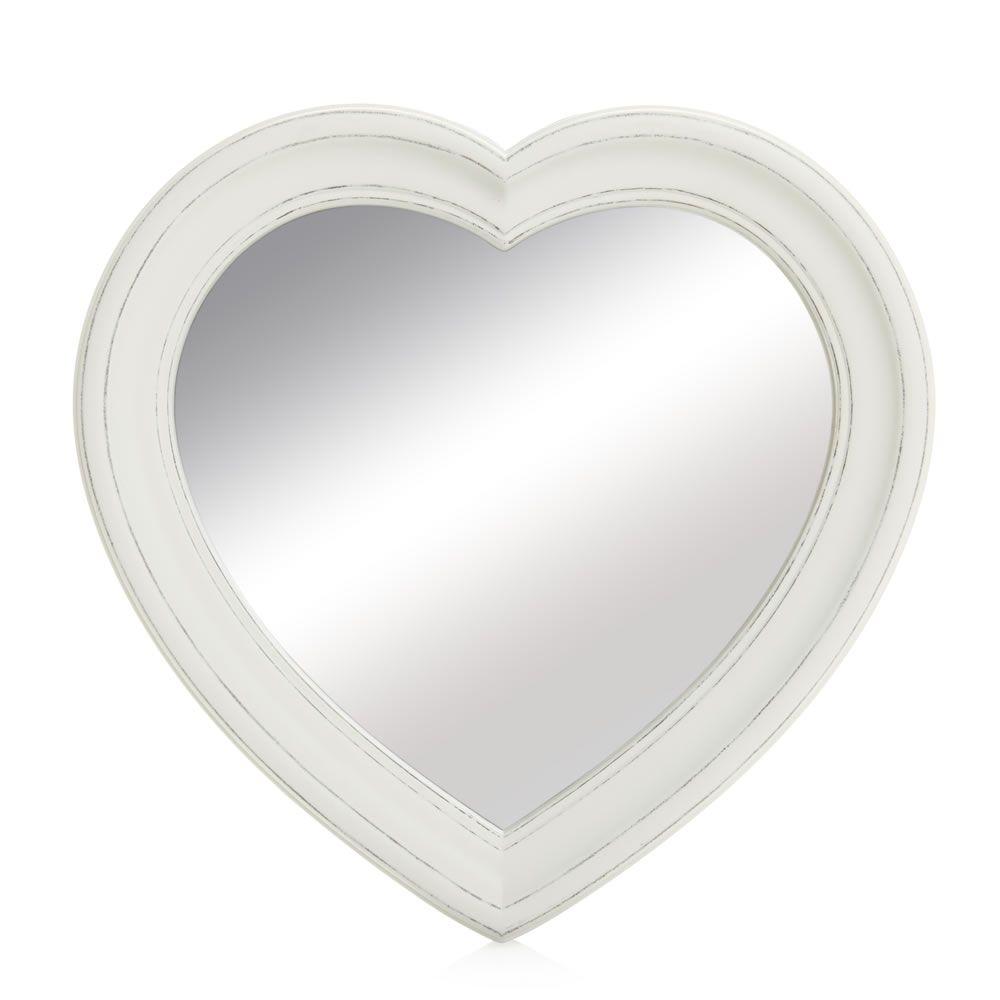 Wilko Vintage Heart Mirror Heart Mirror Vintage Heart Mirror