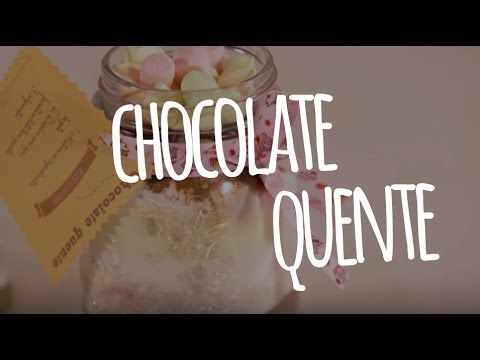 Chocolate quente no pote   MdeMulher