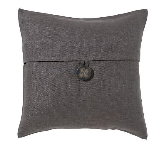 Textured Linen Pillow Cover | Pottery Barn