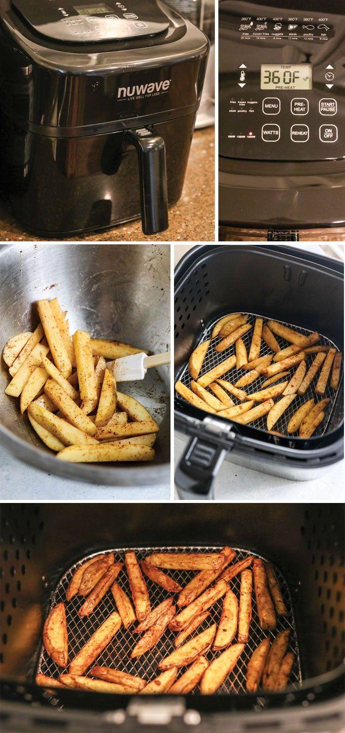 Crispy Air Fryer French Fries Recipe Air fryer french