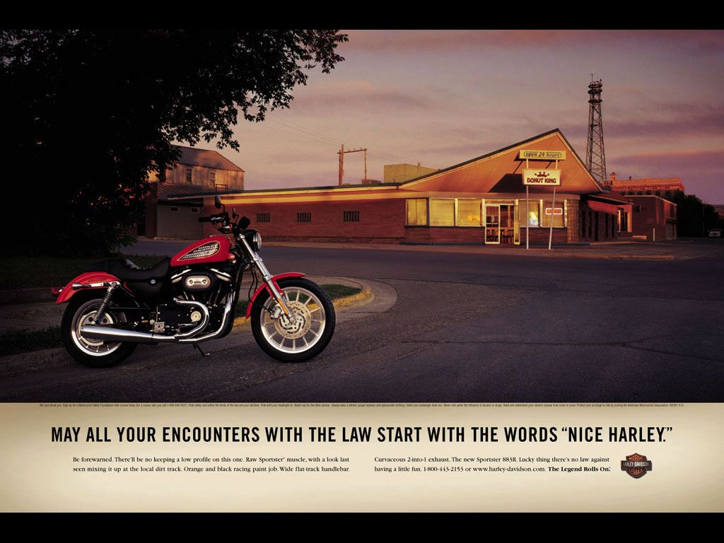 Harley Davidson Advertising: Pin By Chad Brophy On Print