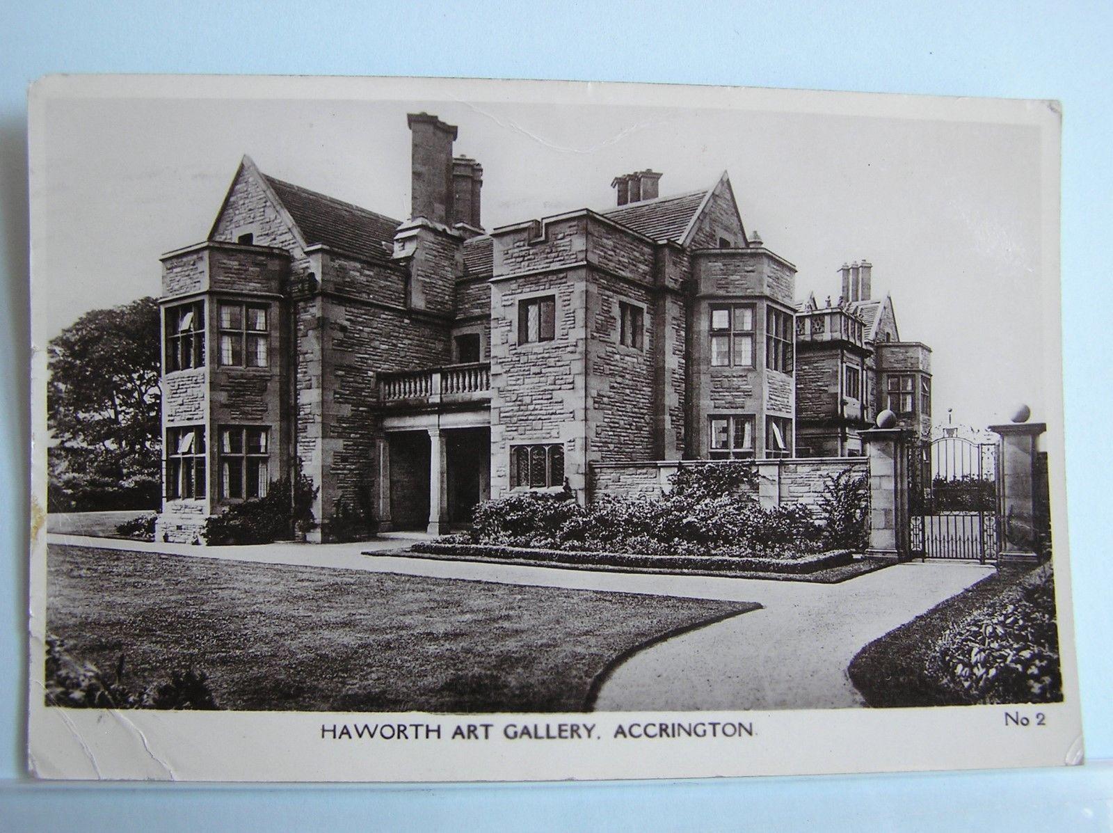 R/P POSTCARD ACCRINGTON HAWORTH ART GALLERY