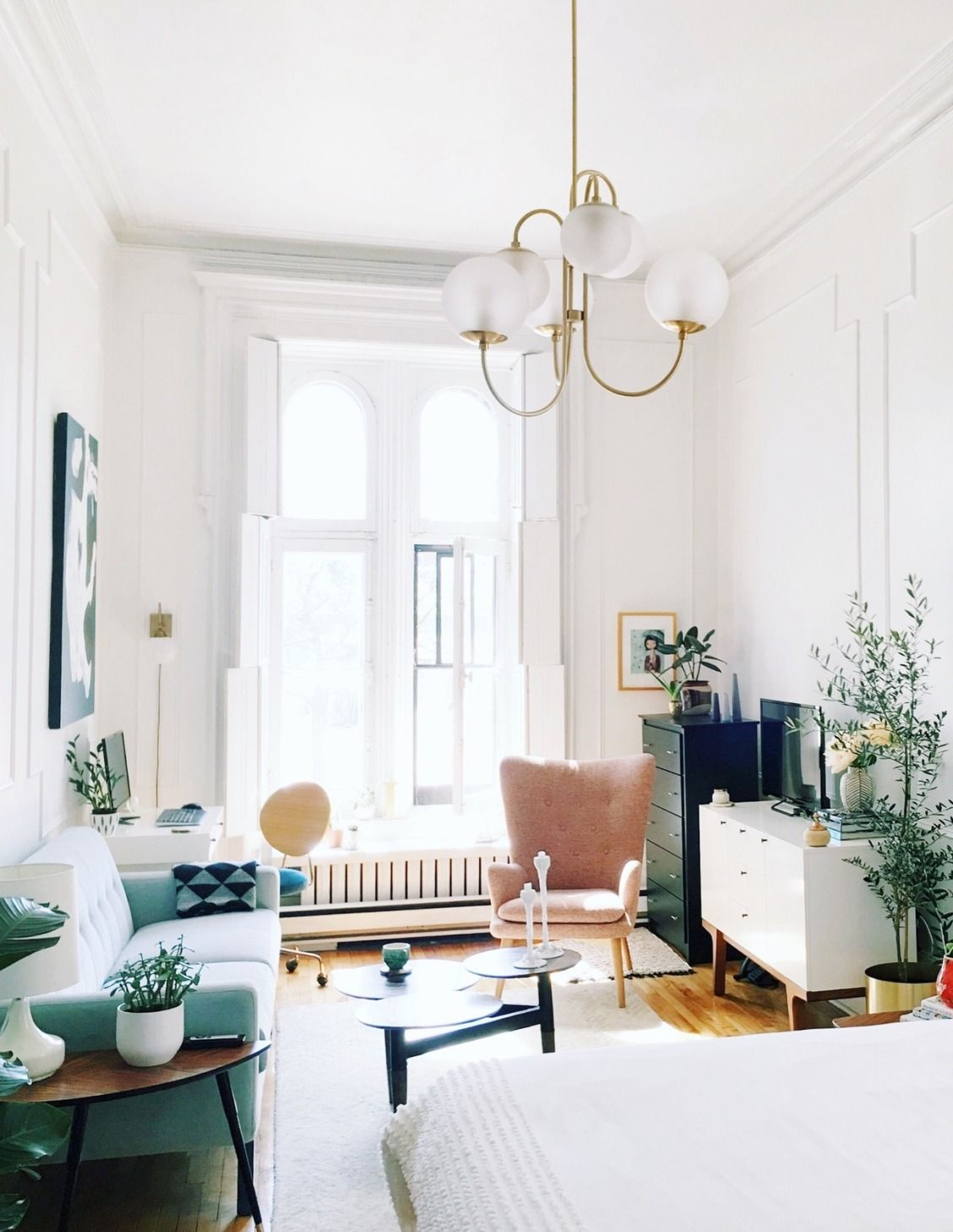 a family of four shares their 800 square foot brooklyn apartment a thoughtfully styled 500 square foot montreal studio house call