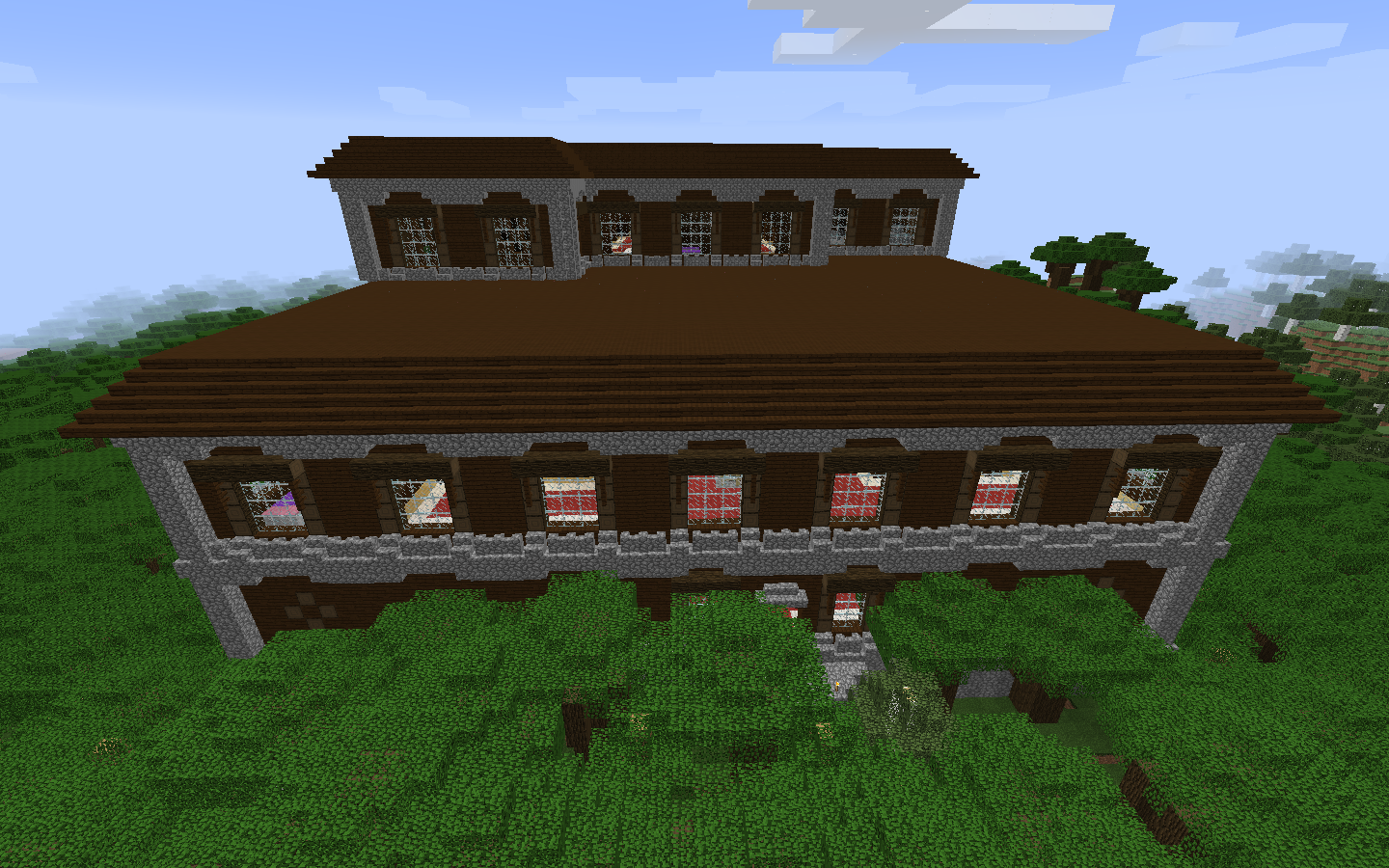 Off to the woodland mansion and village 1 11 seed
