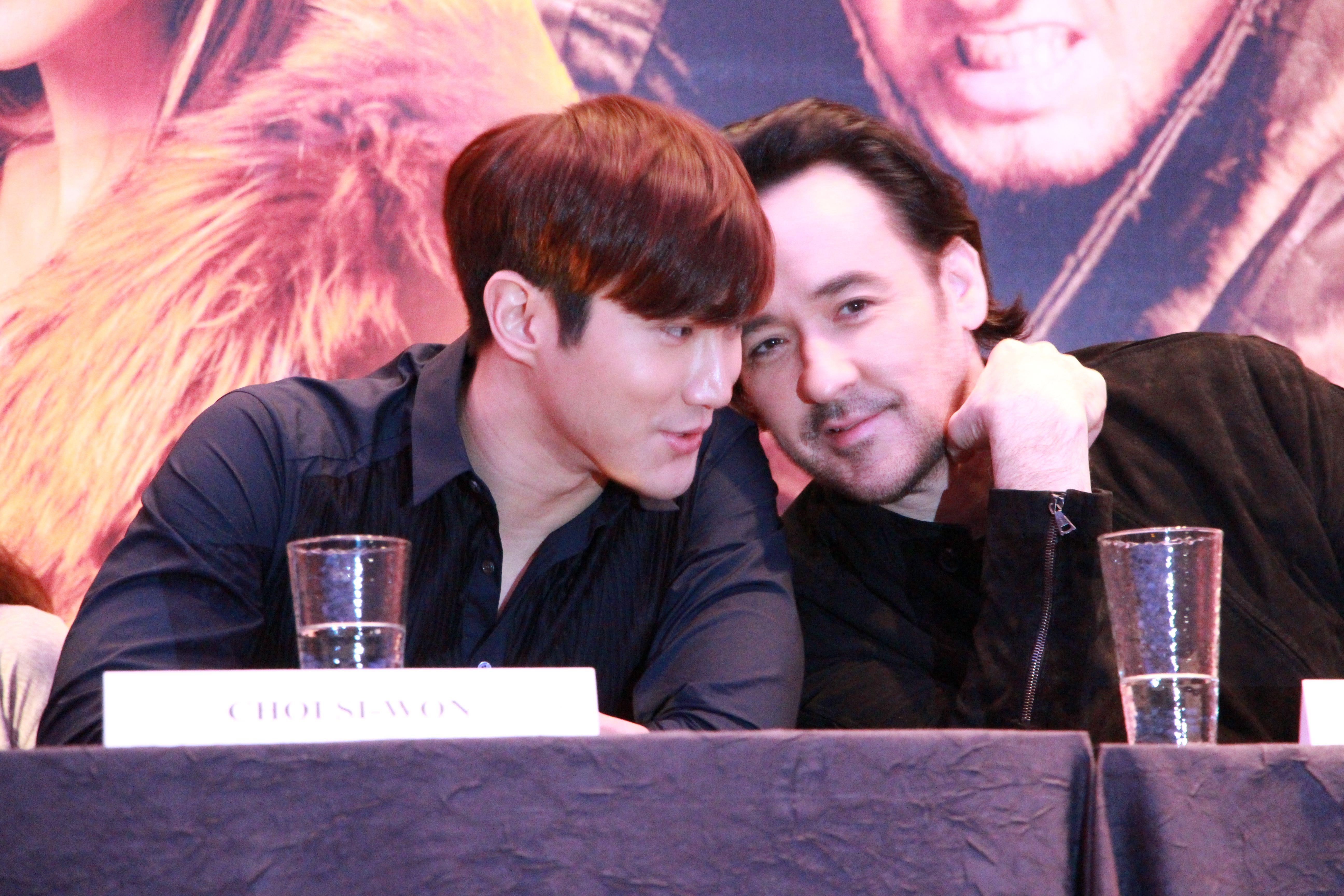 Choi Siwon and John Cusack