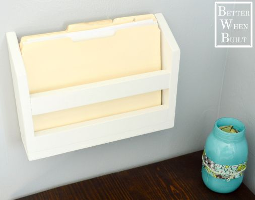 Diy Wall File Holder Diy Bloggers To Follow Wall File