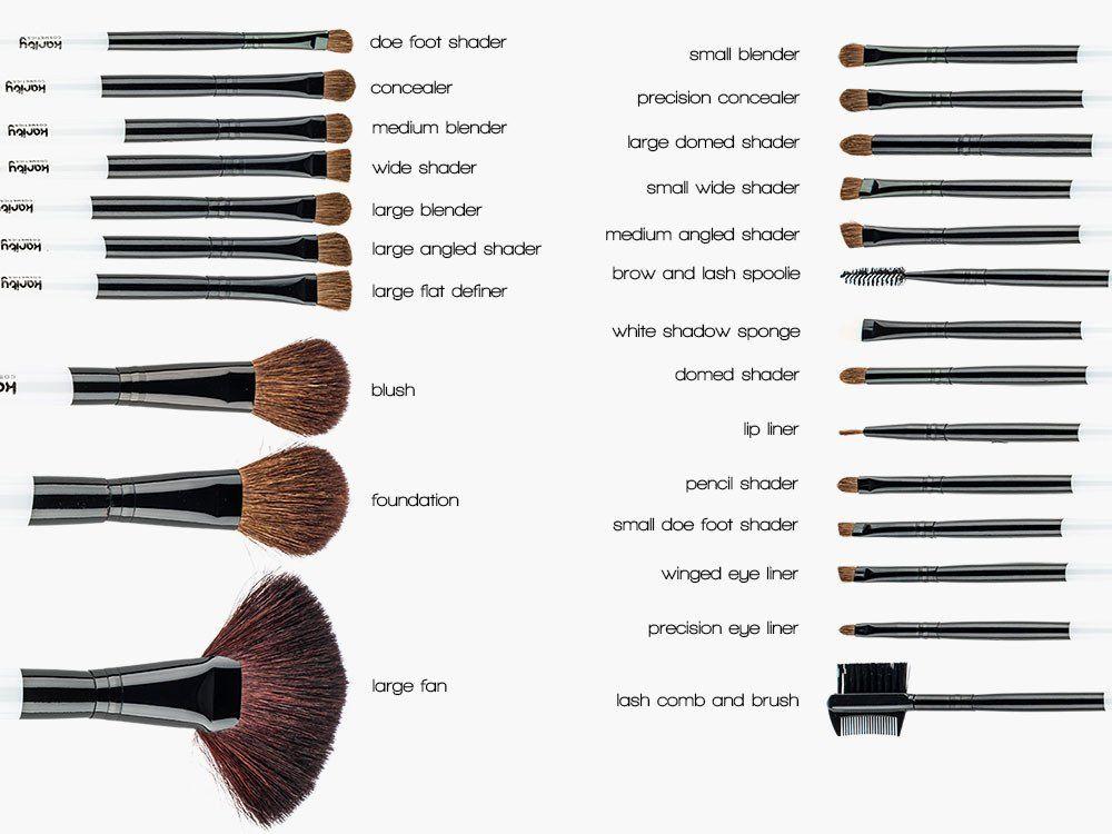 The 24 Piece Starter Makeup Brush Set Makeup Brushes Makeup Brush Set Professional