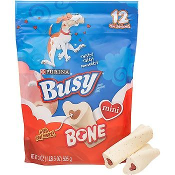 Purina Busy Bone Mini Dog Chews Mini dogs, Dog chews