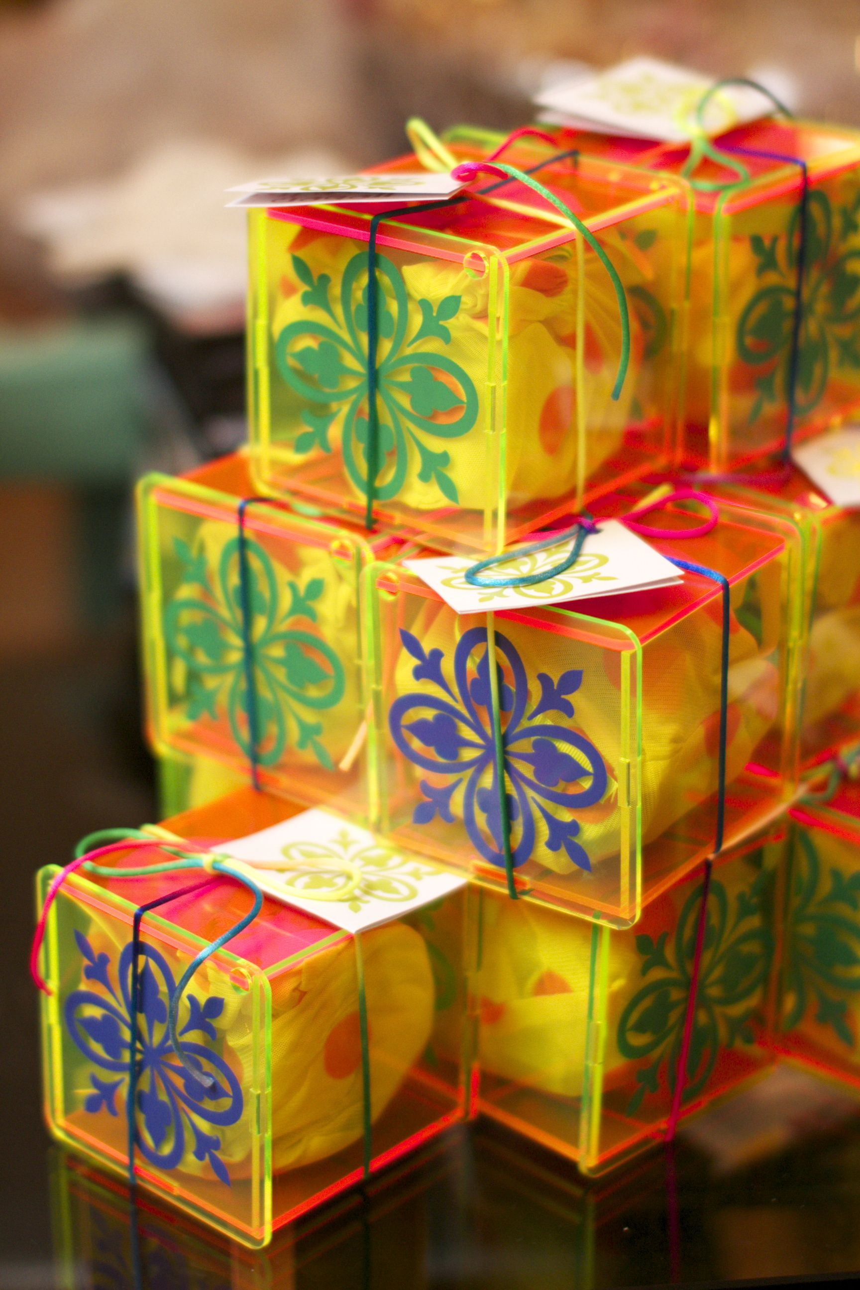 Gergean boxes ( giveaways filled with candies )   Ramadan ...