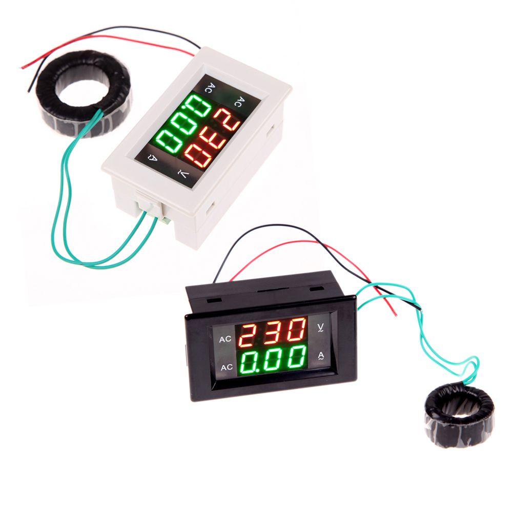 Digital Voltmeter Walmart : Ac digital ammeter voltmeter lcd panel amp volt meter a