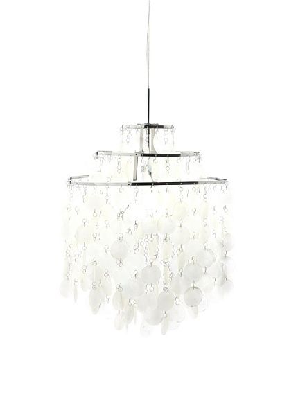Kirch Lighting. Originally designed by Verner Panton; hardwired mother-of-pearl  sc 1 st  Pinterest & Kirch Lighting. Originally designed by Verner Panton; hardwired ...