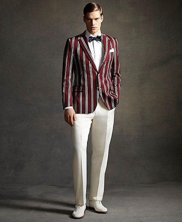 brooks brothers homme ete 2013 collection gatsby le magnifique mode pinterest tenue. Black Bedroom Furniture Sets. Home Design Ideas