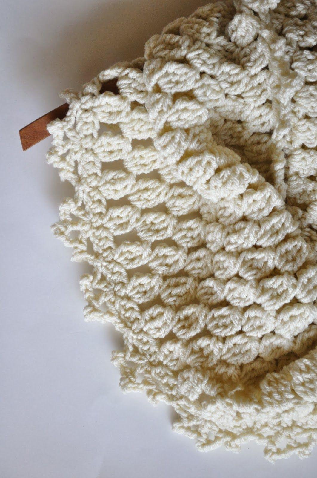 ChirpinBirdie: free crochet pattern - Chunk Lace Cowl | BUFANDAS ...