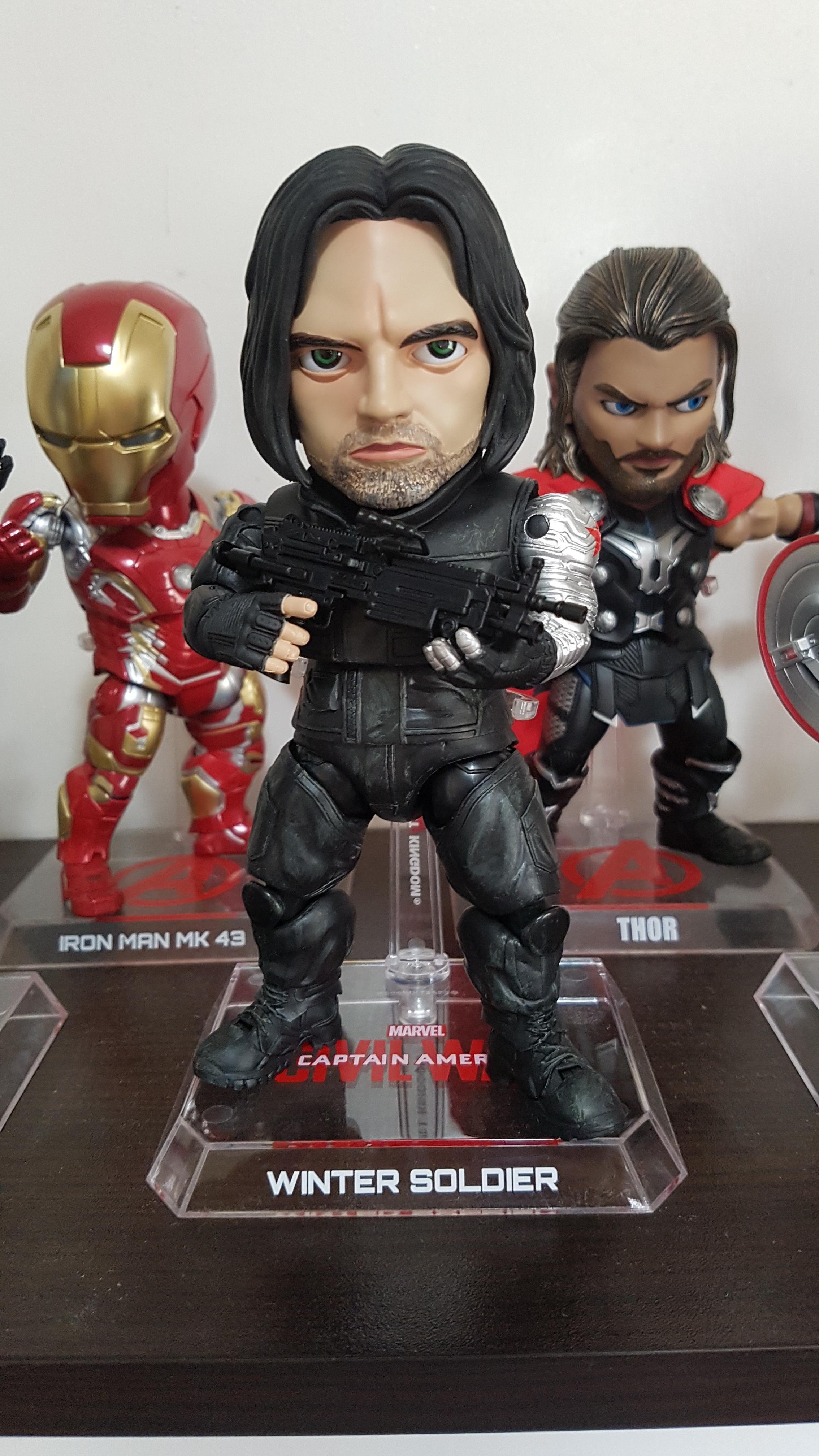 MARVEL Bro Thor Egg Attack EAA-116 Avengers Beast Kingdom Exclusive Sideshow