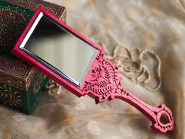 Discovered   Bohemian Vibes #Bohemian #Vibes #Pocket #Mirror #Pink #Cute