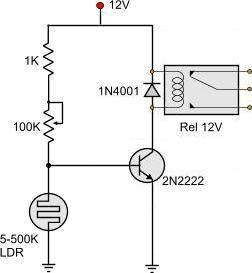 light dark activated relay randizzle pinterest dark lights rh pinterest com LDR Circuit Arduino Diagram Diagram LDR Circuit Arduino Diagram Diagram