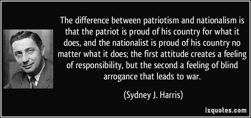 Patriotism And Nationalism Patriotic Quotes Patriotic The More You Know