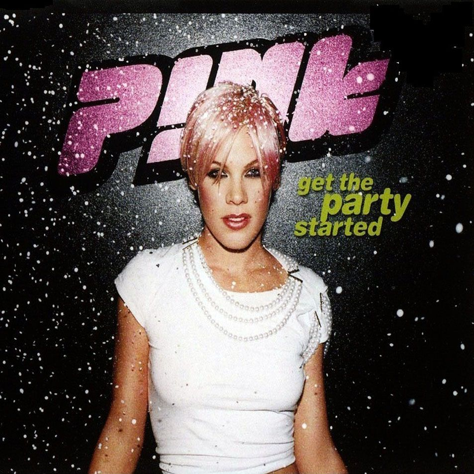 Pink – Get the Party Started (single cover art)
