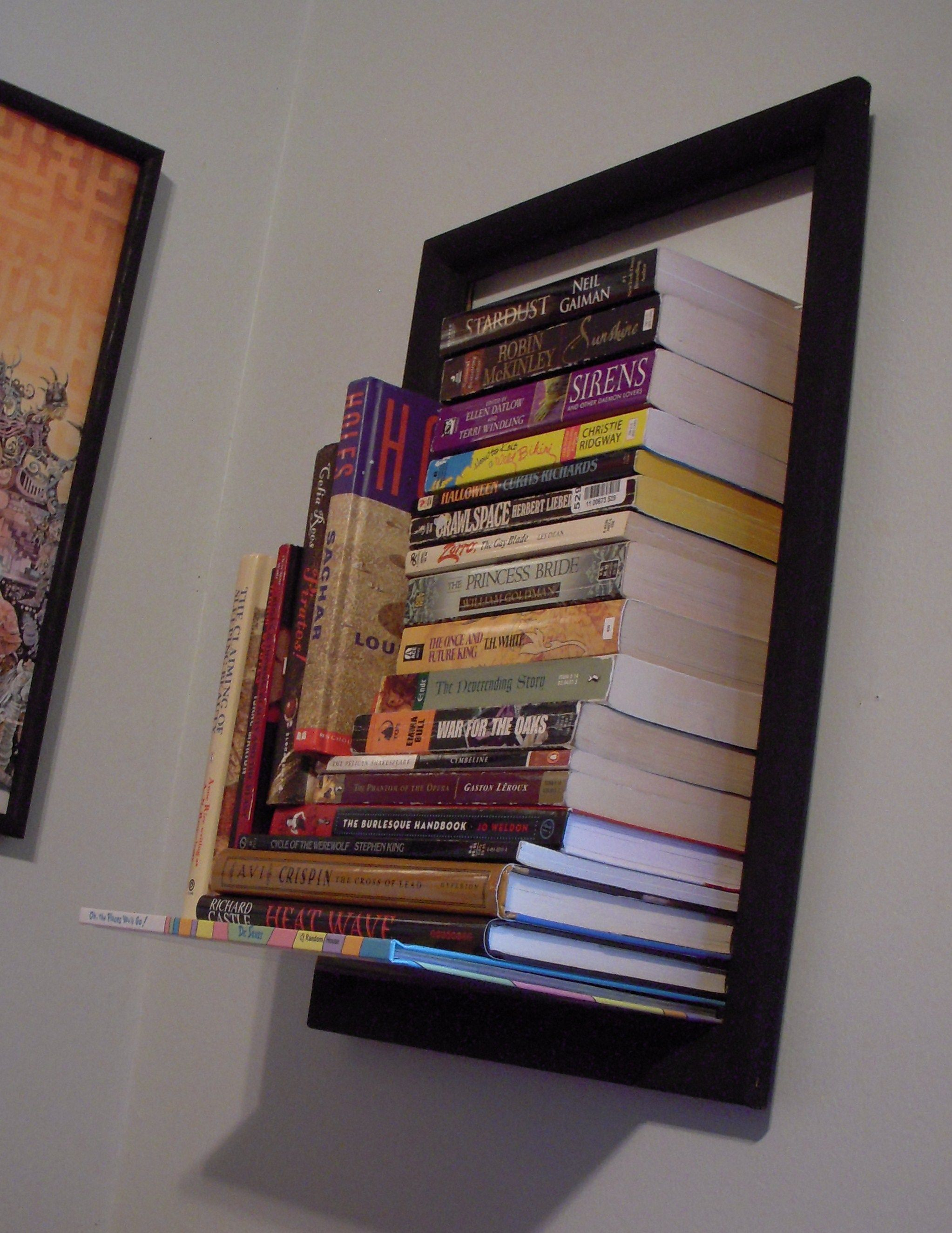 mowebs concealed headboard shelf of furniture awesome then bookcase book also artistic with bookshelf size queen images