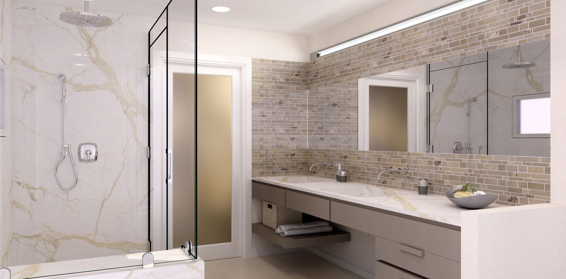 Need Bathroom Ideas? Pair Neutral Colors With A Bathroom Vanity Or Tile  Countertops And New Faucets To Achieve Many Different Looks In Your Bathroom .