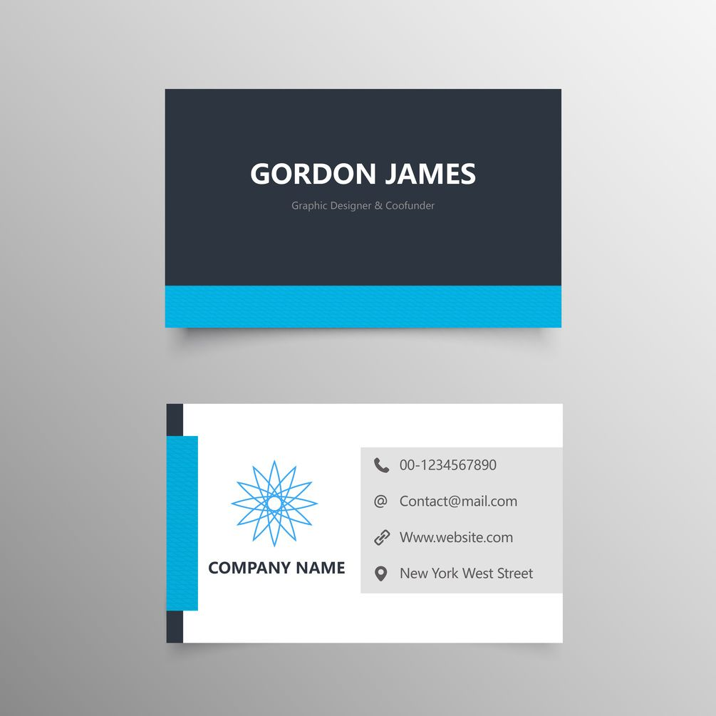 Elegant Business Card Free Template Download Free Business Card