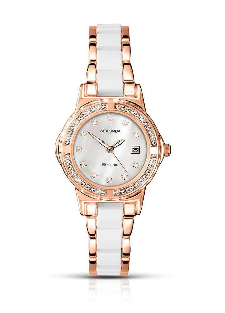 Sekonda La s Two Tone Bracelet Watch