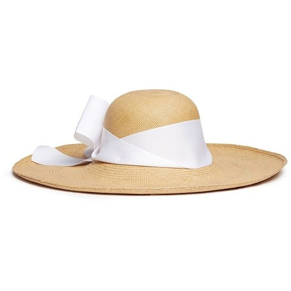 Lady Ibiza Toquilla Straw Hat - Beige Sensi Studio 6SASC