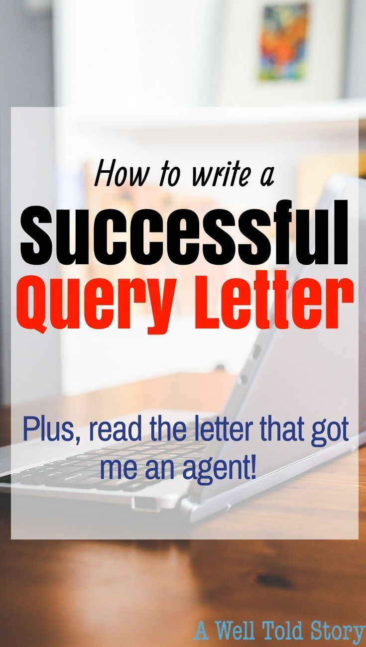 14++ How to write a query letter for a picture book ideas