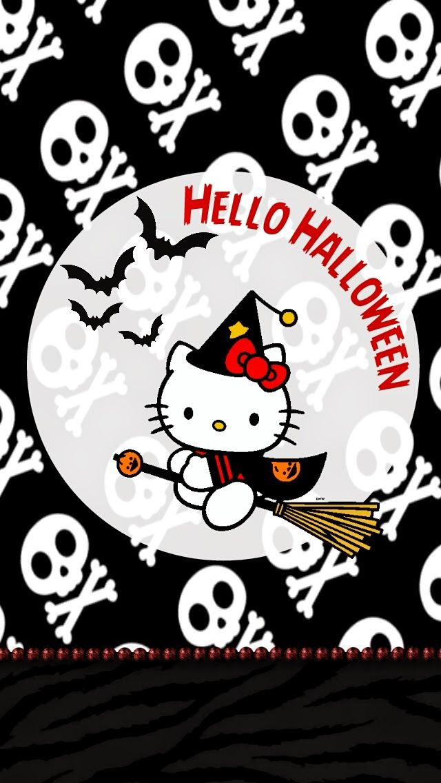 Hello Kitty Halloween Wallpaper Collection Hello Kitty Halloween Wallpaper Hello Kitty Halloween Hello Kitty