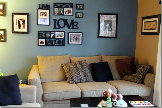 Grey and Tan Living Room Inspiration is part of Neutral Living Room Tan - Some inspiration for how to put together a grey and tan living room  It's easier than you think!