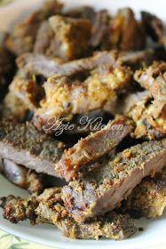 Azie Kitchen Daging Bakar Kelantan Kegemaran Saya Nasi Kerabu Food Recipes
