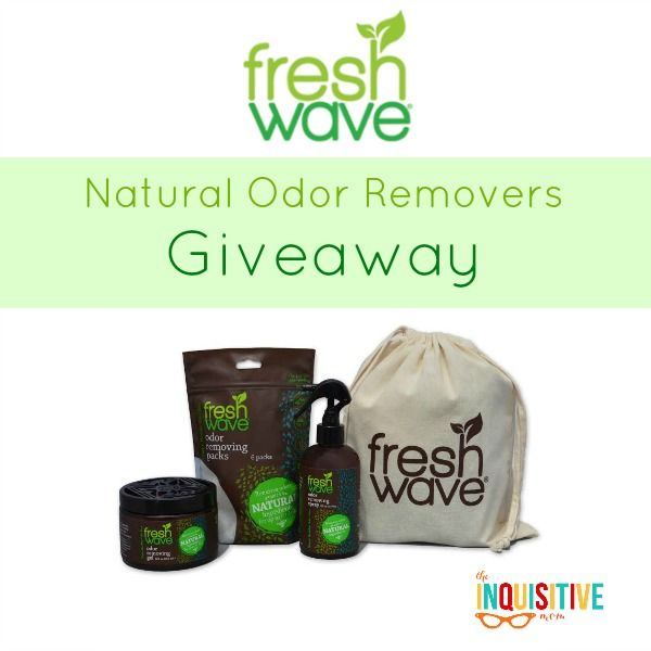 We received the full line of Fresh Wave products. You can read my full Fresh Wave Review and then enter my Fresh Wave Giveaway!