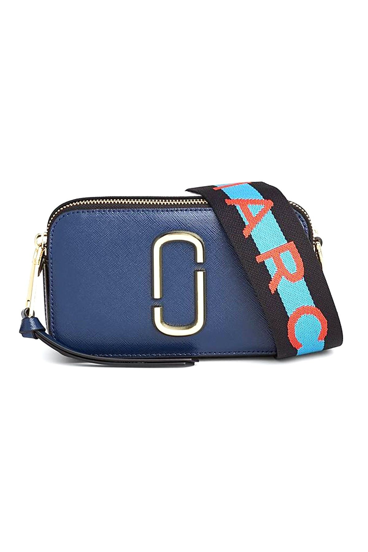 fc967bc80 Marc Jacobs Snapshot Bag in Blue Sea Multi | Hampden Bags in 2019 ...
