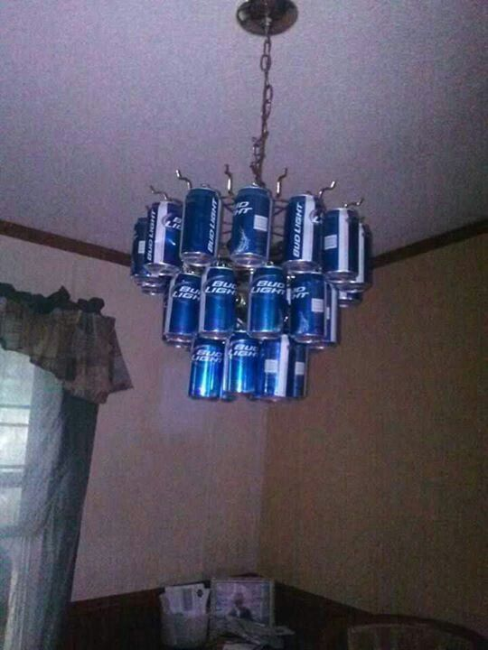Man Caves Are Stupid : Redneck chandelier country stuff pinterest
