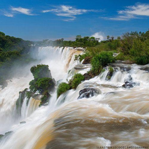 landscapelifescape:  Iguazu falls, Argentina by lux69aeterna