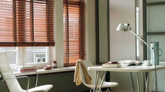 Luxaflex® Wood Venetian Blinds Offer You The Choice Of Grains, Stains And  Decorative Fabric Tapes. Allowing You To Fully Personalise Your Wood Blinds.