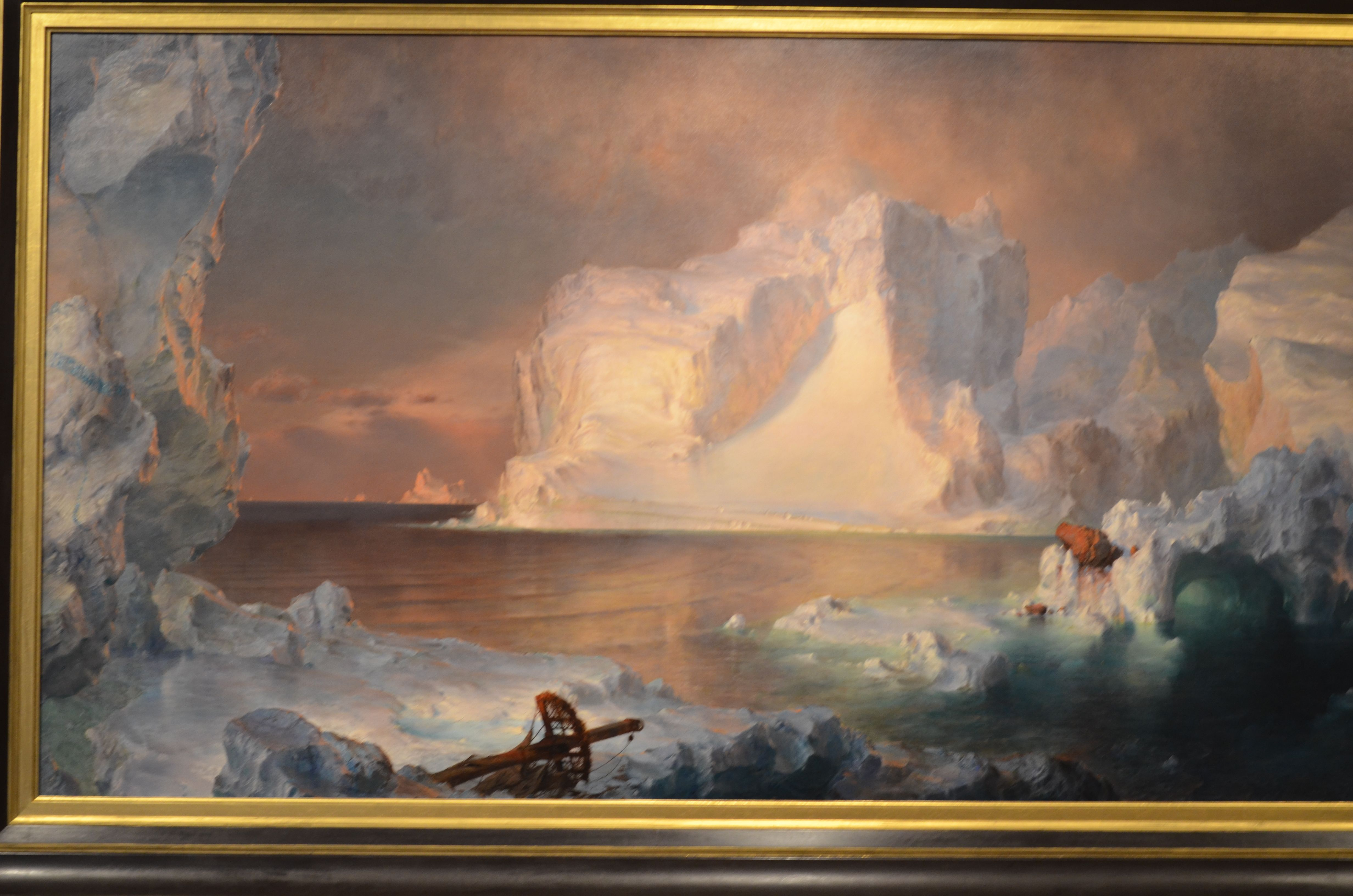 In 1861 Frederic Edwin Church S The Icebergs Was Called The