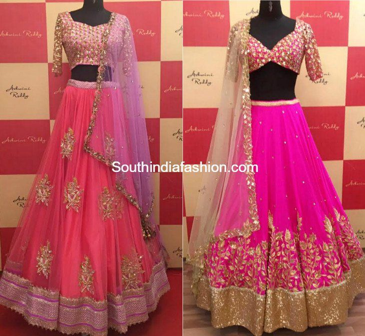 10 Beautiful Designer Bridal Lehengas For This Wedding Season by Ashwini Reddy photo