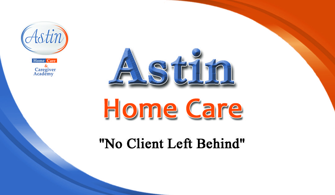 Astin Home Care offers Personal Care, Companionship