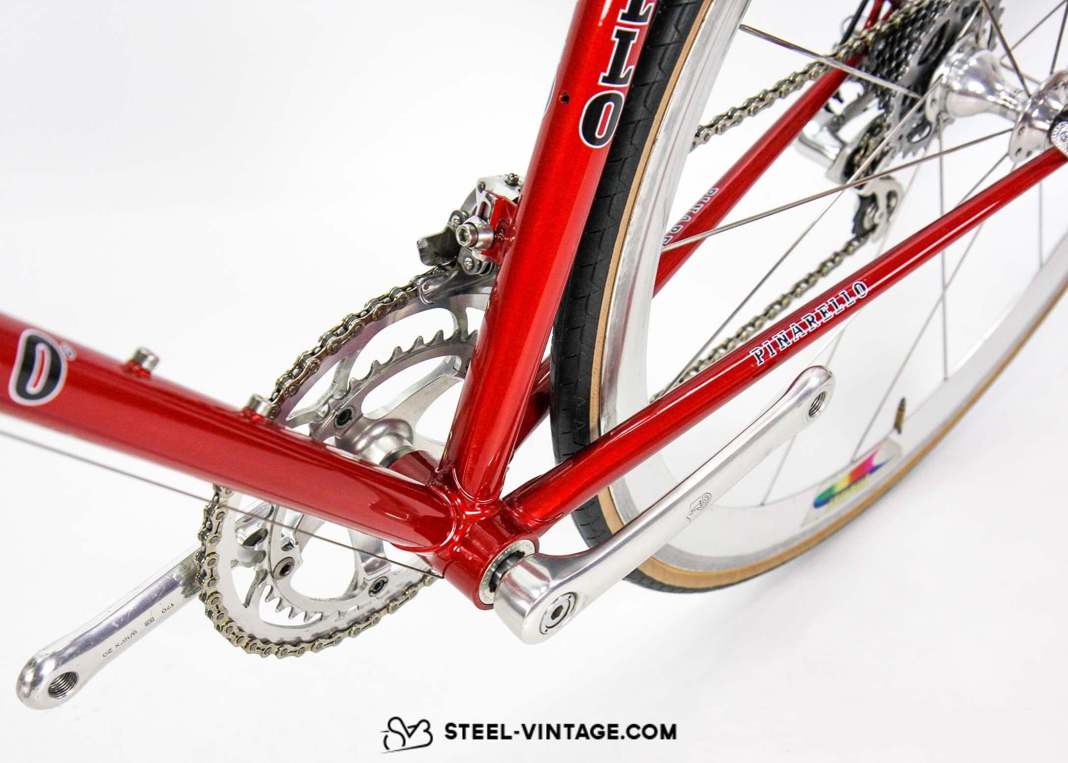 Steel Vintage Bikes Pinarello Asolo 1990s Road Bicycle Road Bicycle Bicycle Pinarello