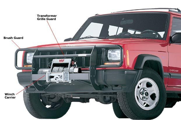 Warn Trans4mer Grille Guard Jeep Parts And Accessories Jeep