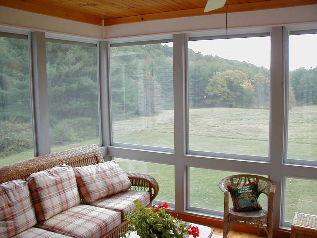 back ranch decorating in ideas porch screened a small for homes enclosure