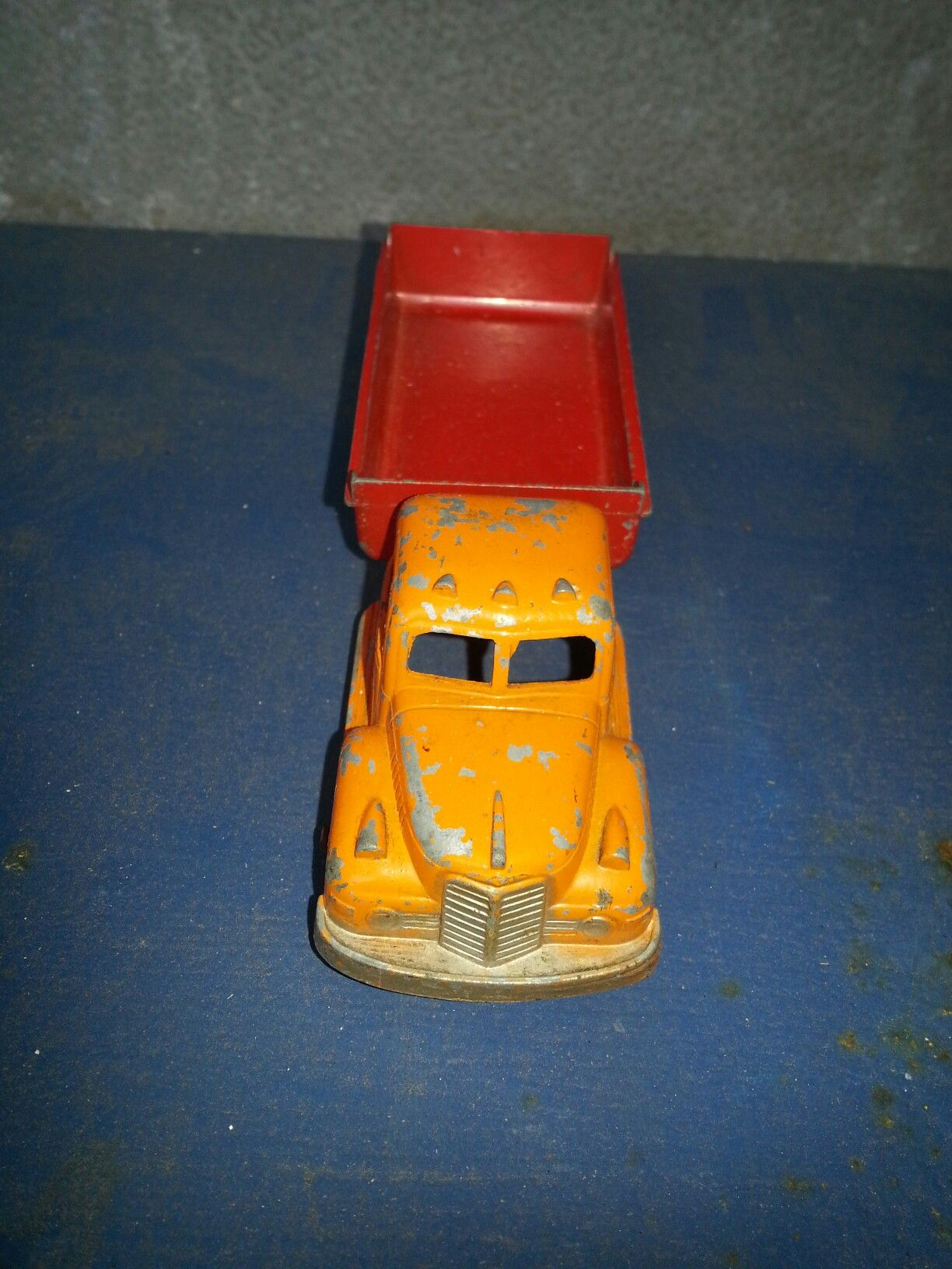 Vintage Tootsie Toy Dump Truck Made in United States of