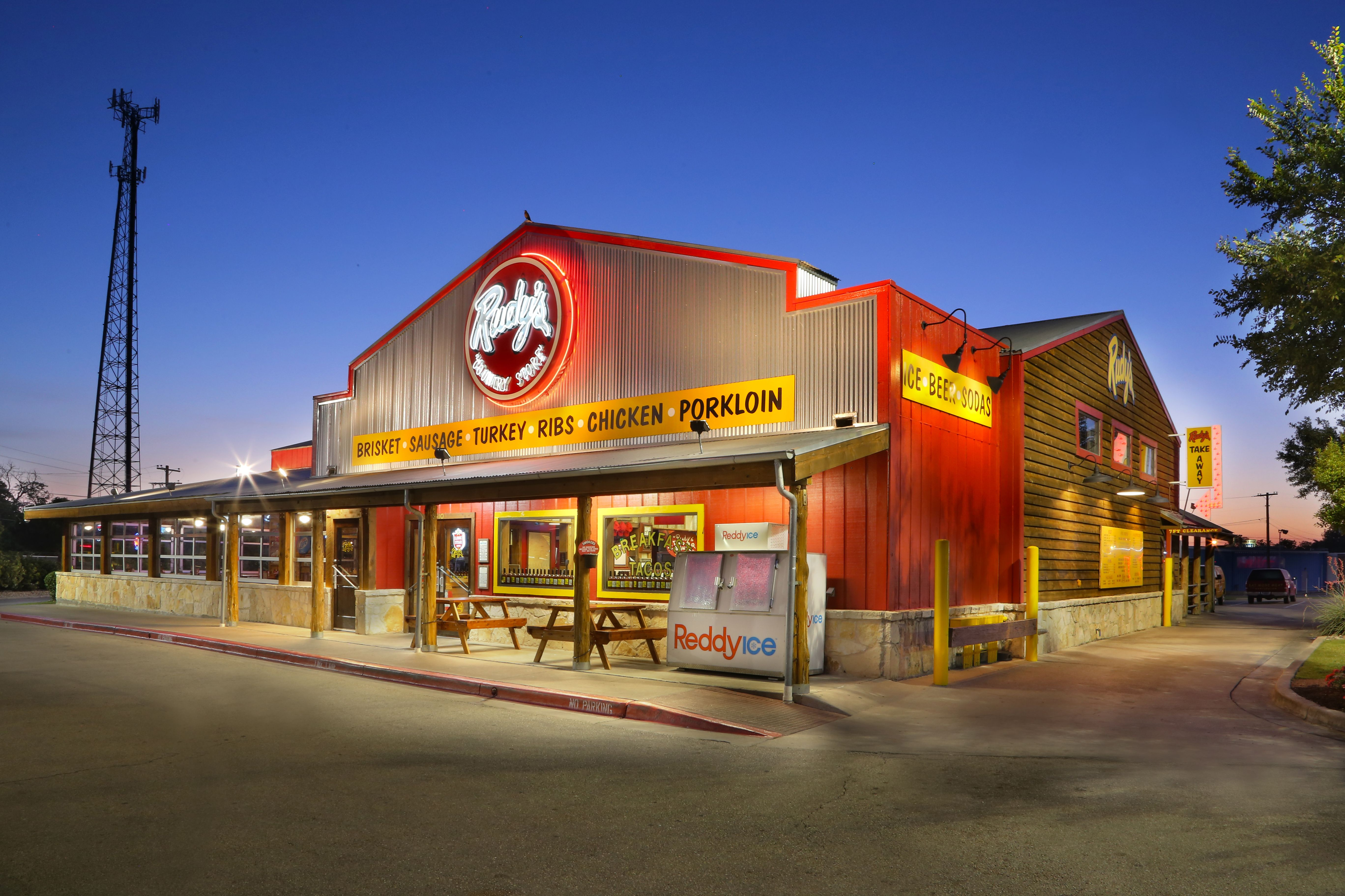 Waco Tx Rudy S Country Store And Barbecue Real Texas Bar B Q Now Shipping Bbq Texas Restaurant Bbq Restaurant Bbq
