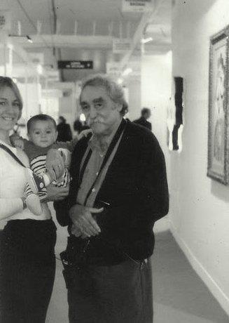 my Family and Jesus Rafael Soto a  Paris